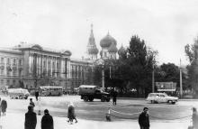 Одесса. Привокзальная площадь