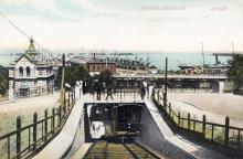 Существует открытка с фотографией, напечатанной зеркально, 1910 г.