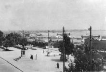 На Приморском бульваре. Одесса, 1960-е гг.