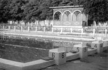 Бассейн СКА. Фото Георгия Петросяна. 1965 г.