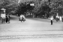 Одесса, ул. Пушкинская угол ул. Чижикова. Начало 1960-х гг.