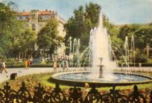 Сквер на вулиці Дерибасівській