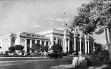 Одеса. Вокзал. Фото О. Малаховського. Поштова картка. 1957 р.