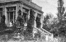Даче Ковалевского, № 111, усадьба Александра Митрофановича Федорова. Фотография 1910-1920 гг.