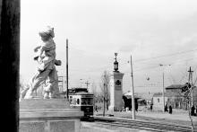 Николаевская дорога перед «Молодой Гвардией»