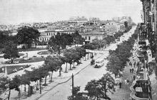 Одесса. Улица Лассаля. Почтовая карточка. 1920-е гг.