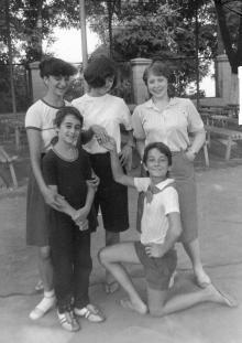 В пионерлагере им. А. Матросова. Одесса. 1982 г.
