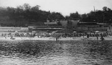10-я станция Большого Фонтана, пляж «Чайка». Одесса. 1972 г.