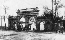 Одесса. Вход на Ланжерон. Почтовая карточка, 1933 г.
