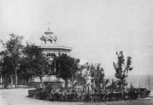 Одесса. Уголок на даче Ланжерон. Светопечать С.В. Кульженко