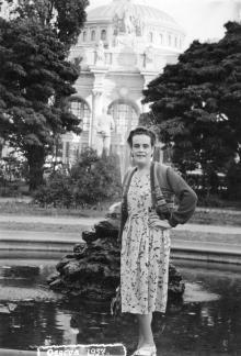 Одесса, в Пушкинском сквере, 1957 г.