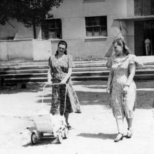 Одесса. На улице Энгельса, 1а. 1953 г.