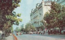 Вулиця Дерибасівська. Фото з комплекту листівок «Одеса», 1977 р.