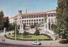 Одесса. Санаторий «Молдова». Фото А. Подберезского, Ю. Шашкова. Почтовая открытка из набора 1972 г.