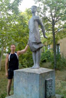 На территории санатория. Фото Елены Пенко. 2007 г.