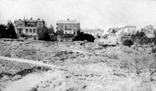 Обвал на Ланжероне. Вид на улицу Черноморскую. Одесса. 1918 г.