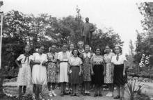 Дом отдыха «Ударник». Одесса. 1954 г.