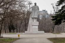 Памятник В.И. Ленину на территории парка им. Ленинского комсомола. Одесса. Фото Олега Владимирского. 13 марта 2013 г.