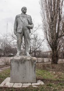 Памятник В.И. Ленину в парке им. Ленинского комсомола, Одесса. Фото Олега Владимирского. 13 марта 2013 г.
