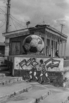 Шары на Ланжероне. Фото О. Владимирского. Конец 1990-х гг.