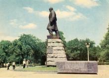 Одеса. Пам,ятник Т. Шевченкові. Фото А. Підберезького