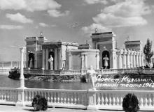 Одесса. Куяльник. Летний театр. 1962 г.