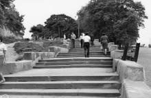 Одесса. Лестница в Херсонском сквере. 1970-е гг.