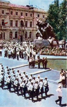 Открытие памятника «Потемкинцам — потомки» 22 июня 1965 г.