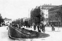 Одесса. Улица Лассаля. Почтовая карточка. 1933 г.