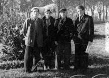 В Старосенном сквере. Одесса. 1958 г.