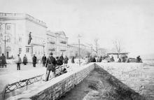 Одесса, Приморский бульвар, 1870-е годы
