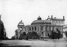 Городской театр, светопись С.В. Кульженко