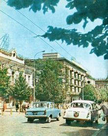 На Дерибасовской улице, 1970-е гг.