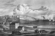 Одесса. Гравюра 1830-х гг.
