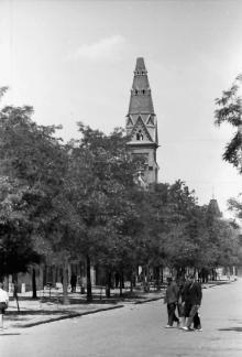 Одесса, лютеранская церковь (кирха), фотограф Willy Pragher, июнь 1943 г.