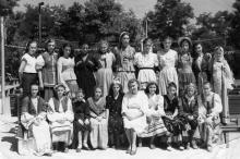 Дом отдыха «Ударник». Одесса, июль, 1956 г.