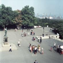 Одесса. Приморский бульвар. Фотография Г.З. Каминского, сентябрь, 1981 г.