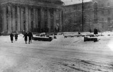 Кинотеатр «Родина». Фотограф Николай Корнеевич Клювак. Одесса, зима 1963 г.