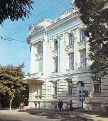 Кинотеатр «Одесса». Фото в путеводителе-справочнике «Одесса». 1989 г.