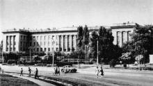 Здание областной партийной школы. Фото в книге «Архитектура городов-героев. Город-герой Одесса». 1977 г.