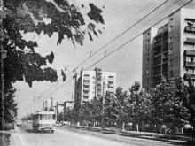 Улица Академика Филатова. Фото в путеводителе «Одесса». 1976 г.