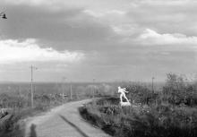 Одесса. Дорога на Ланжерон. 1941 г.