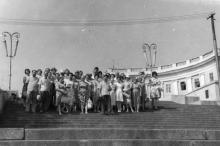 На Потемкинской лестнице. 1959 г.