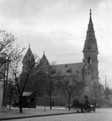 Новая Кирха достраивается, 1890-е годы