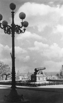 Одесса. На Приморском бульваре. Фотограф В. Шишин. Почтовая открытка. 1962 г.