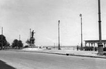 Приморский бульвар. 1944 г.