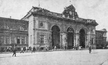 Перроны Одесского вокзала, ноябрь 1939 г.