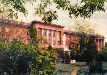Институт глазных болезней им. акад. В.П. Филатова. Фото в иллюстрированном буклете «Одесса», 1957 г.