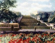 Потемкинская лестница после 1944 года