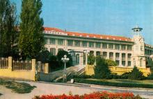 Одесса. Санаторий «Молдова». Открытка из серии «Город-герой Одесса». 1975 г.